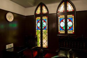 フランソア喫茶室 ステンドグラス