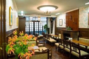 フランソア喫茶室 奥の部屋